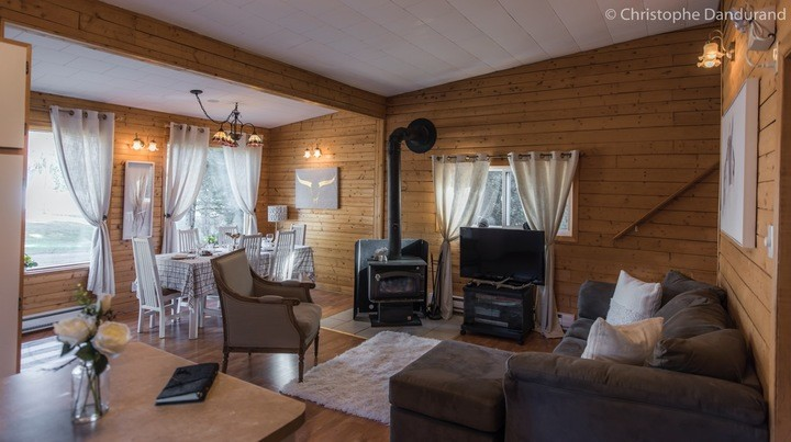 LOUNA | Chalet for rent in La Malbaie